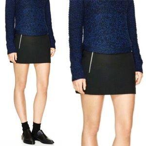 ARITZIA WILFRED | Zipper Pockets Mini Skirt